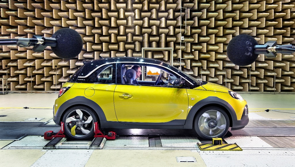 Opel Adam Rocks laboratorio acustico 2