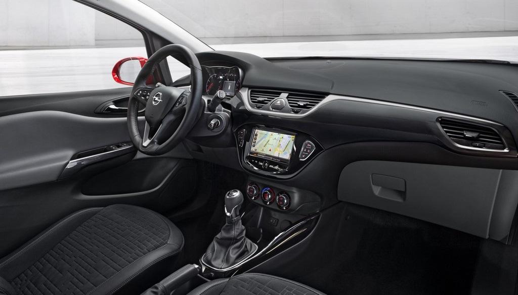 Opel Corsa 2015 interior 2
