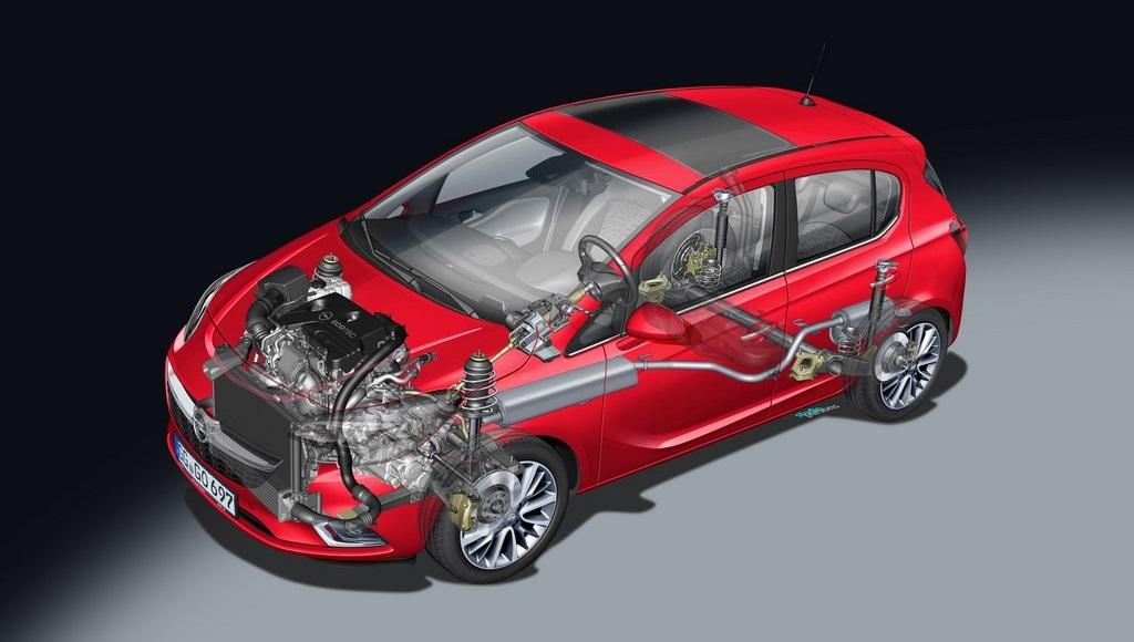 Opel Corsa 2015 mecanica 2