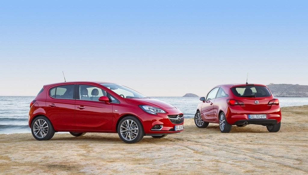 Opel Corsa 2015 rojo
