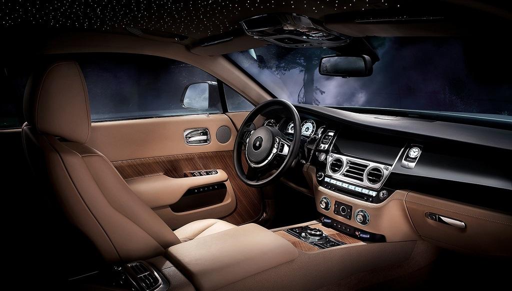 Rolls Royce Wraith interior