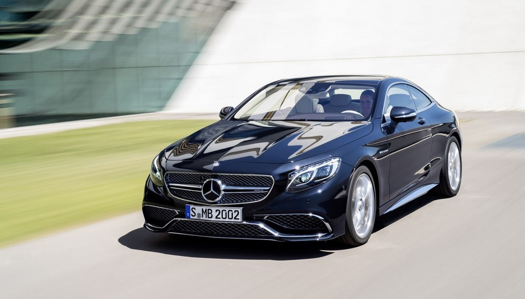 S 65 AMG Coupe frontal