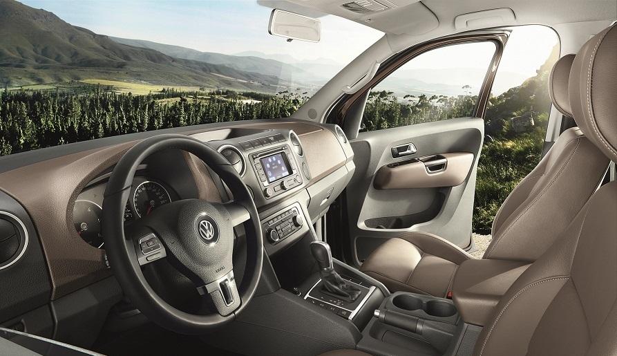 Volkswagen Amarok Highline Edition interior