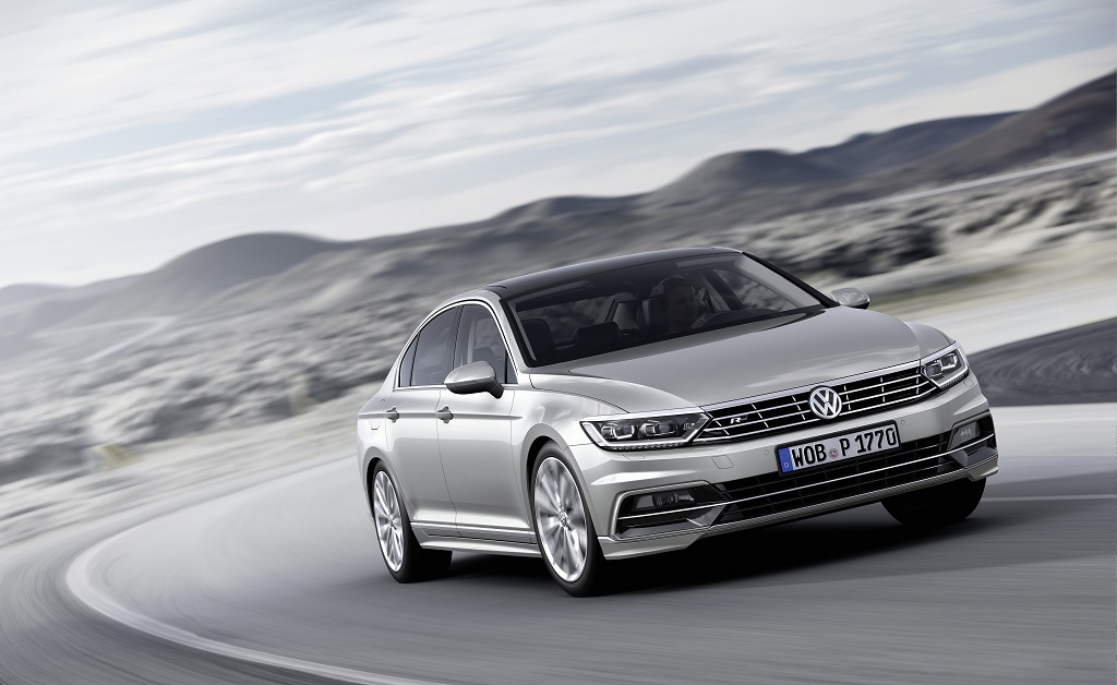 Der neue Volkswagen Passat R-Line