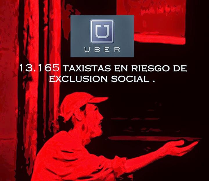 cartel cnt huelga taxi