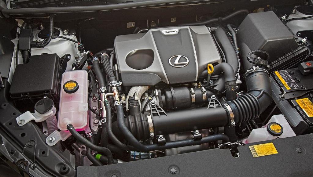 motor Lexus turbo