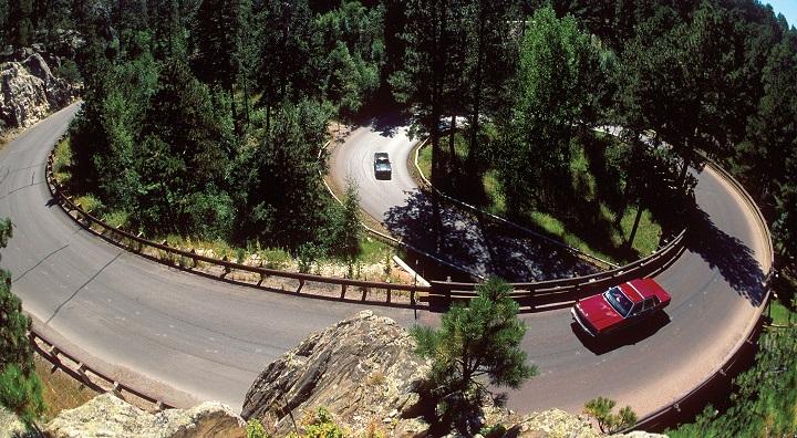 paisaje en coche