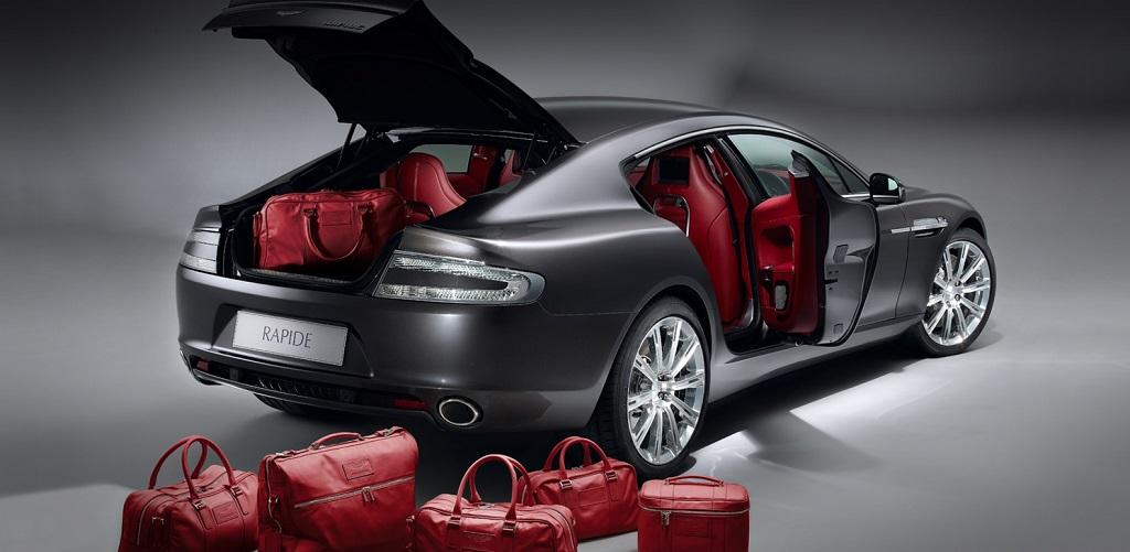 Aston Martin maletas