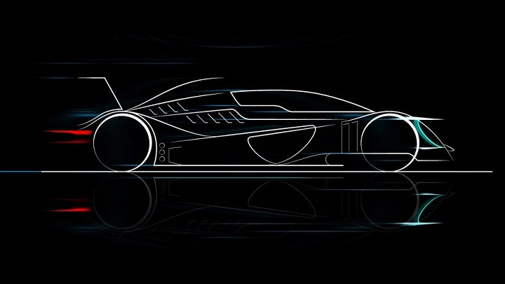 Caparo T1 Evolution boceto