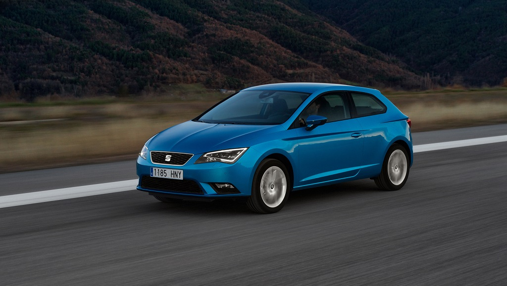 SEAT Leon azul