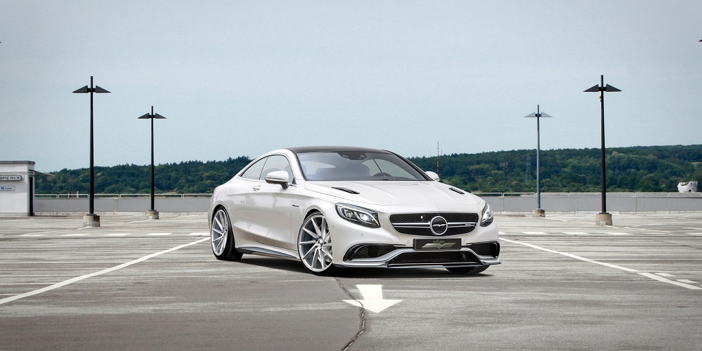 Voltage-Design Mercedes-Benz S 63 AMG Coupe frontal