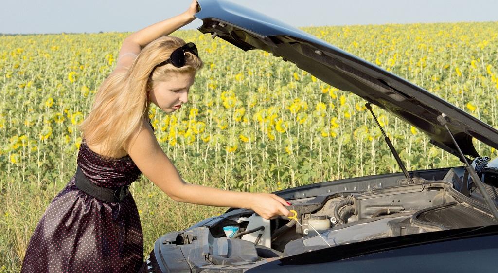 averia coche verano