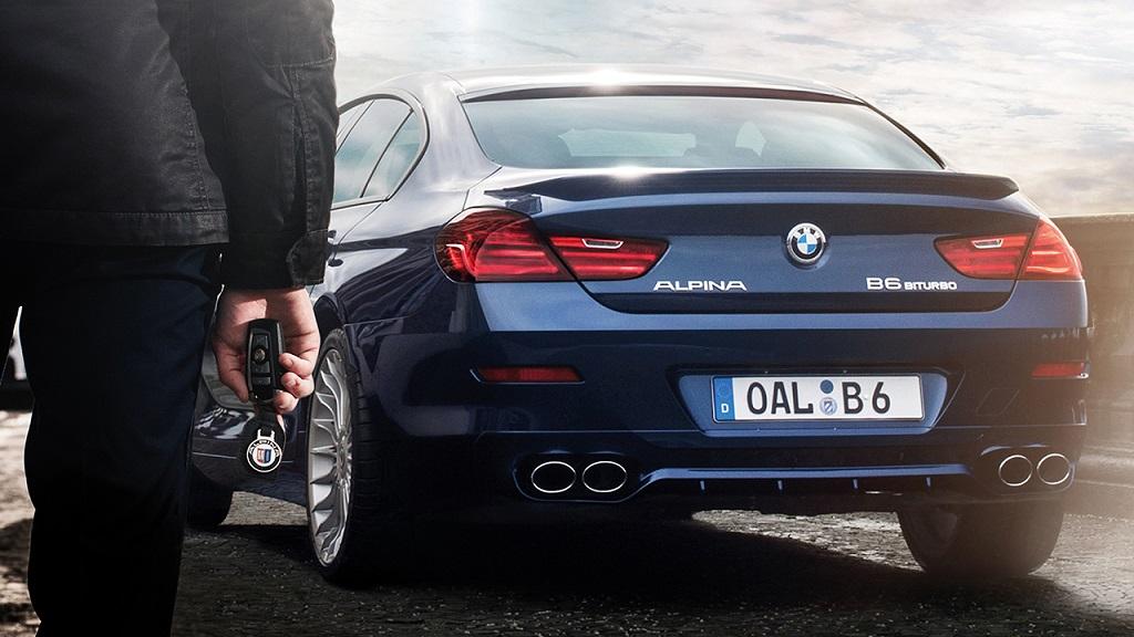 BMW Alpina B6 Biturbo Gran Coupe zaga