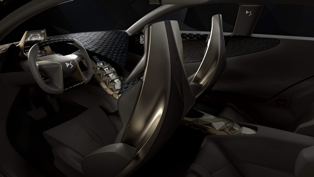 Citroen Divine DS interior
