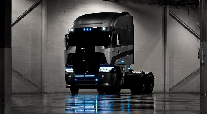 Los coches de Transformers 4: Decepticons Freightliner Argosy Galvatron