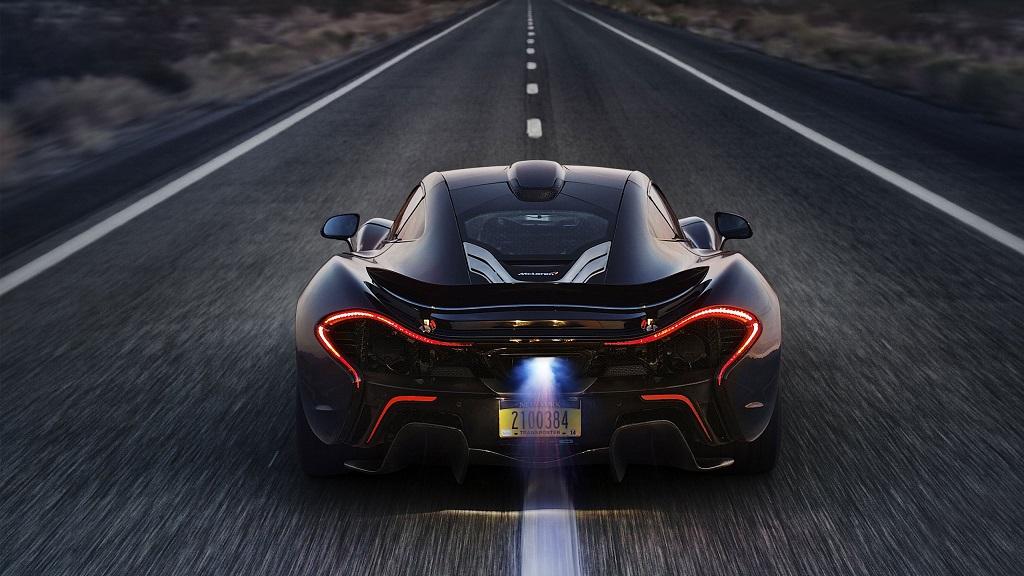 McLaren P1 zaga
