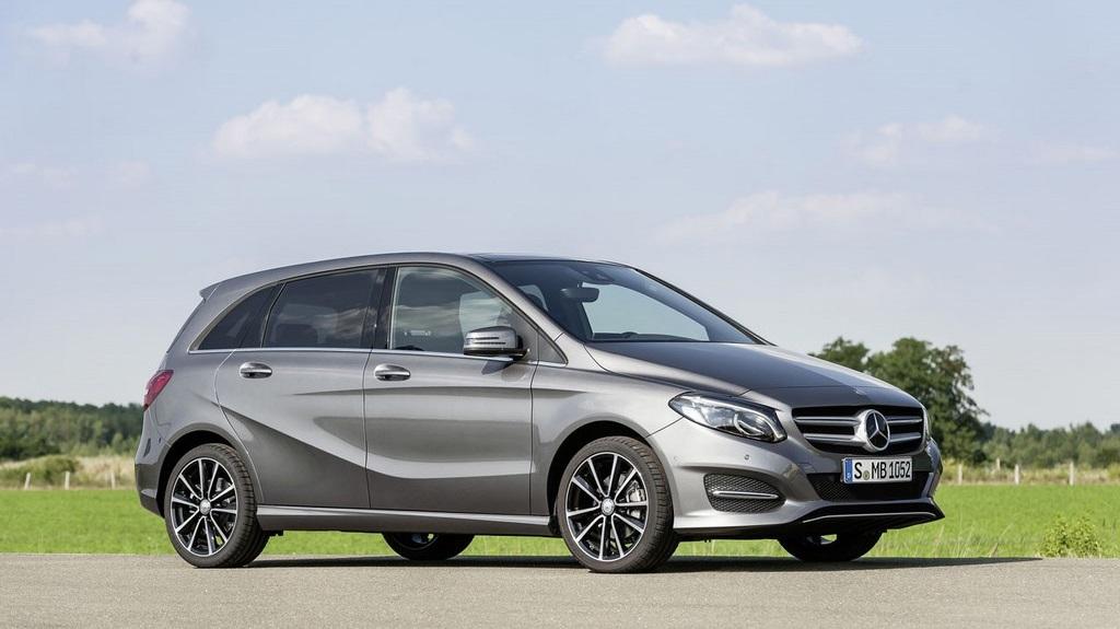 Mercedes-Benz Clase B 2015 3
