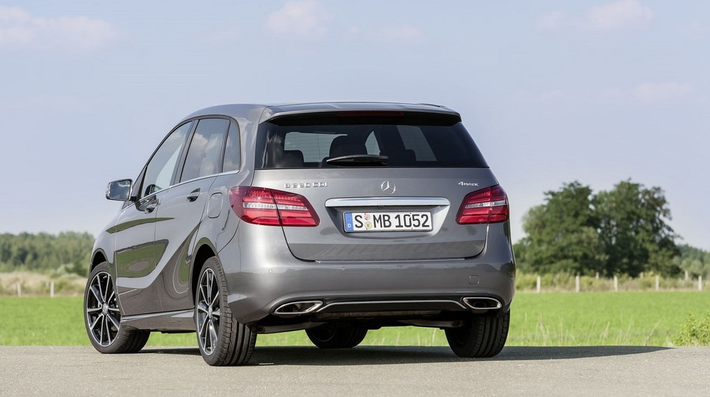 Mercedes-Benz Clase B 2015 5