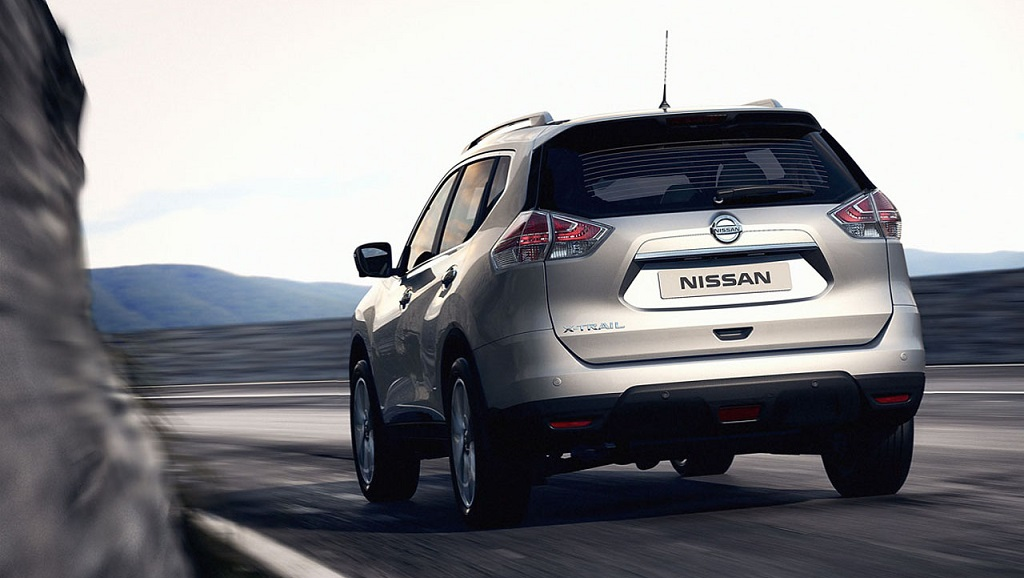 Nissan X-Trail 2014 zaga