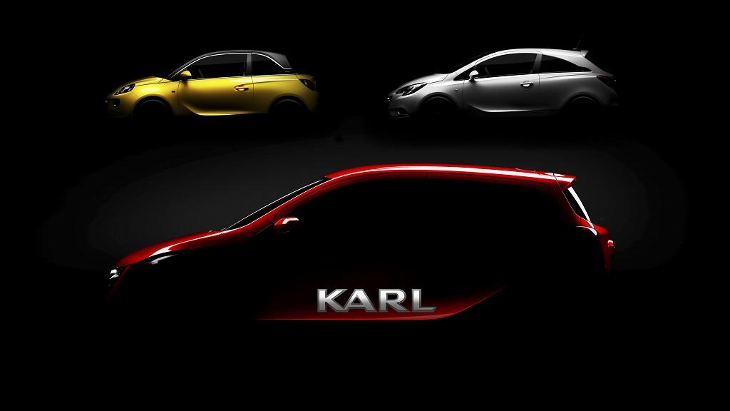 Opel Karl Adam y Corsa