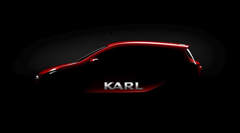 Opel Karl boceto