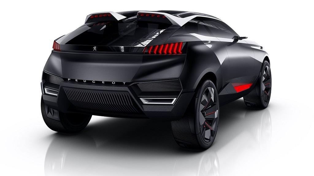 Peugeot Quartz prototipo 2
