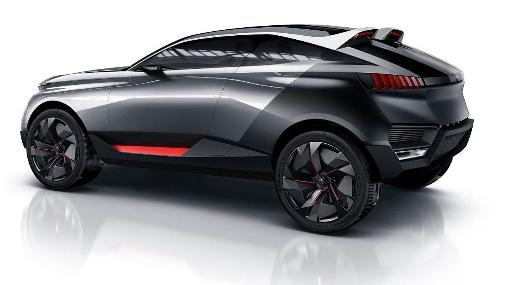 Peugeot Quartz prototipo 3