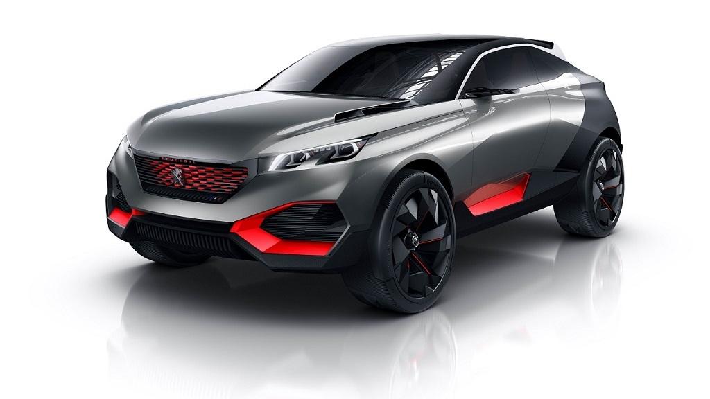 Peugeot Quartz prototipo