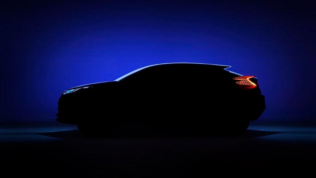 Toyota prototipo crossover C-HR