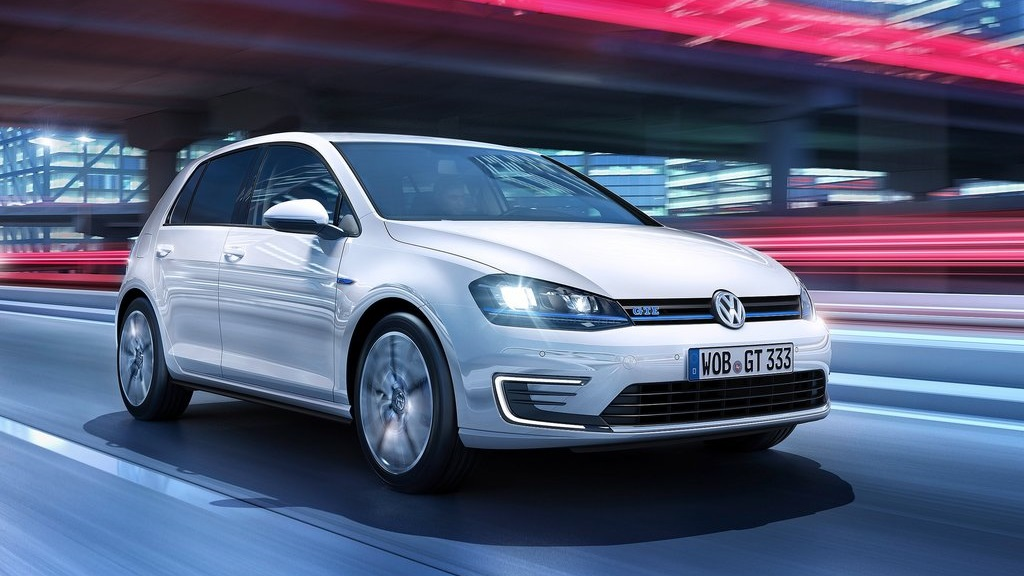 Volkswagen Golf GTE frontal