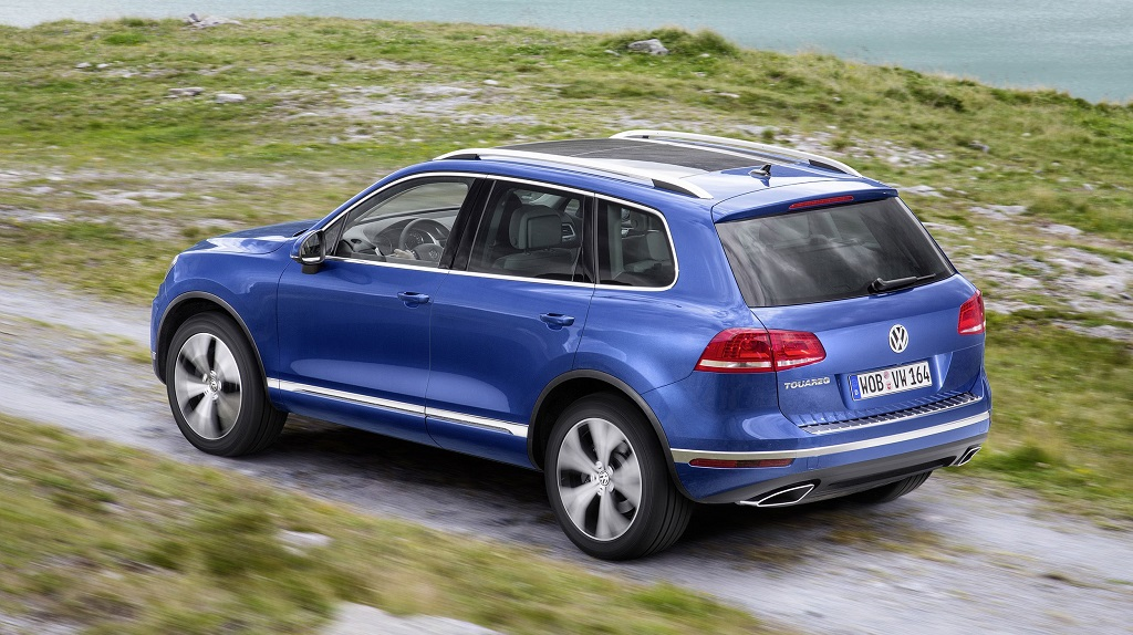 Volkswagen Toaureg 2014 zaga