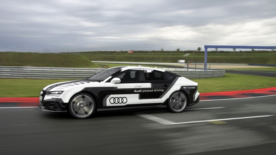 Audi RS 7 piloted driving concept 12