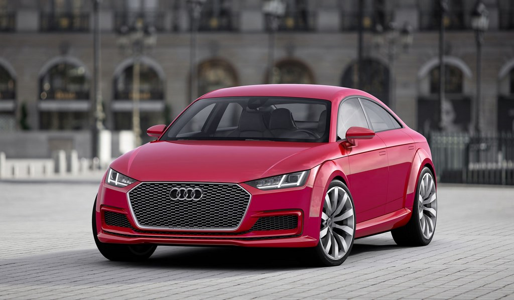 Audi TT Sportback Concept 13