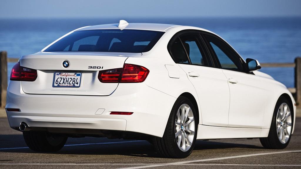 BMW Serie 3 blanco