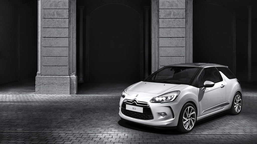 Citroen DS3 blanco