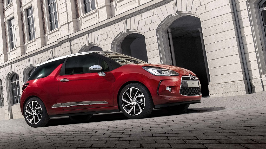 Citroen DS3 rojo