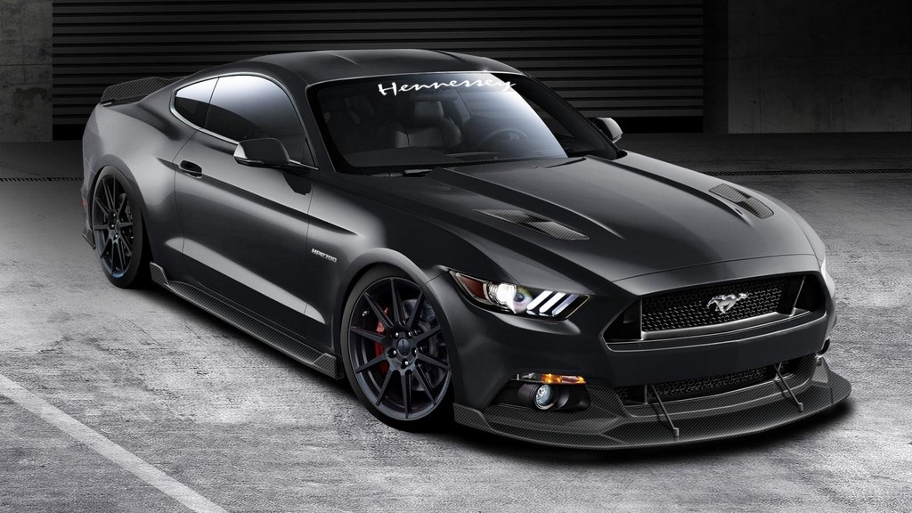Hennessey 2015 Ford Mustang frontal