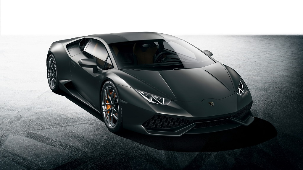Lamborghini Huracan plateado 2
