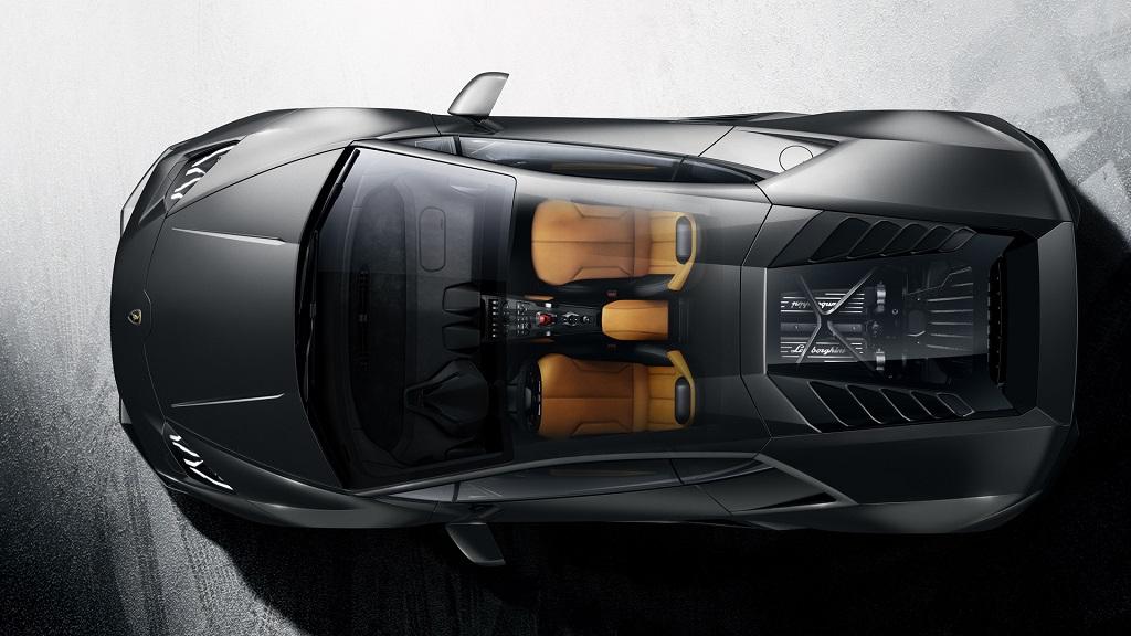 Lamborghini Huracan plateado  3