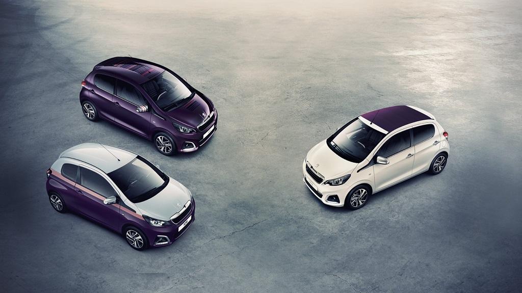 Peugeot 108 combinaciones