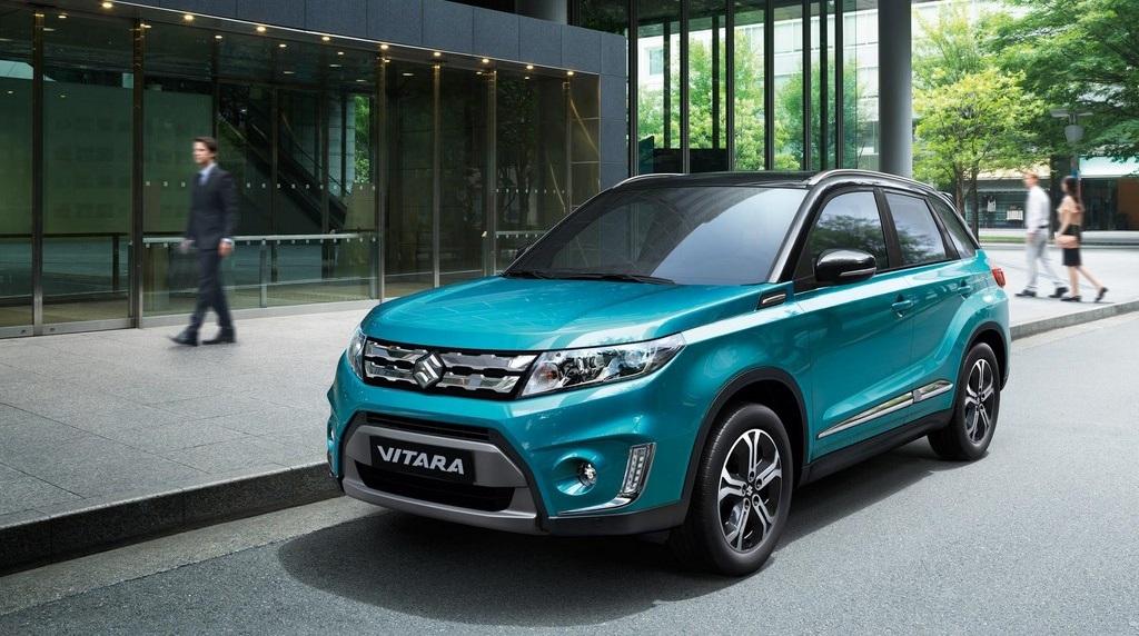 Suzuki Vitara 2015 en la calle