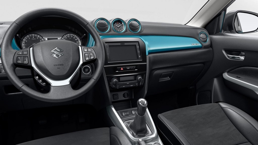 Suzuki Vitara 2015 habitaculo