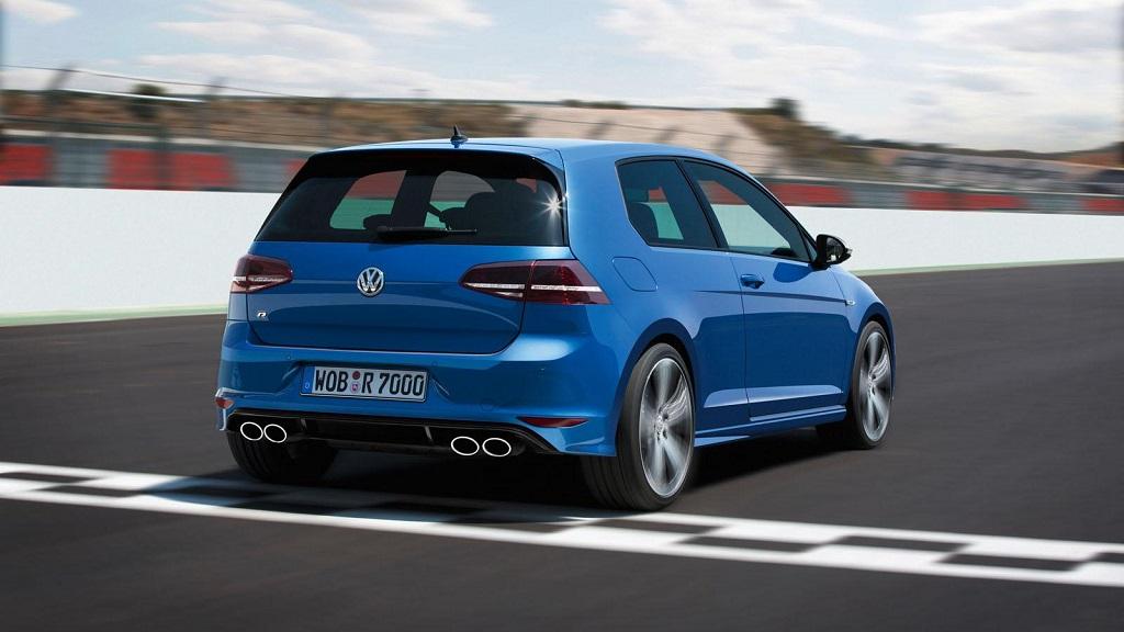 Volkswagen Golf R zaga