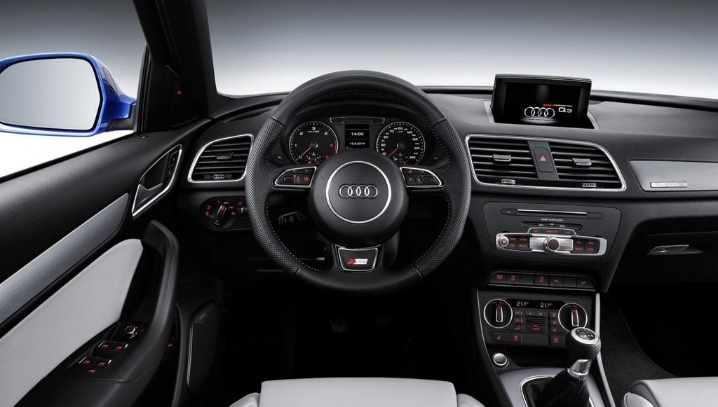 Audi Q3 2015 volante