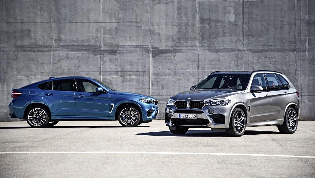 BMW X6 M y BMW X5 M 2015