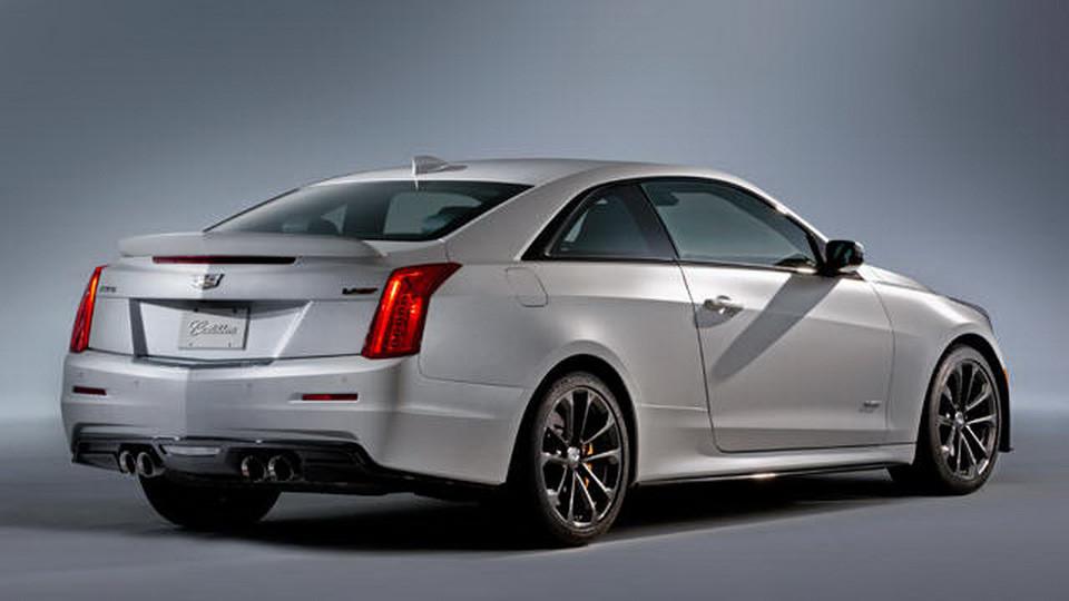 Cadillac ATS-V Coupe 2016 3