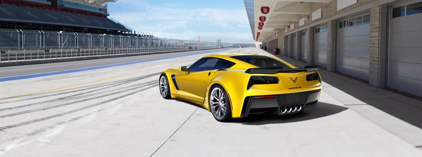 Corvette Z06 zaga