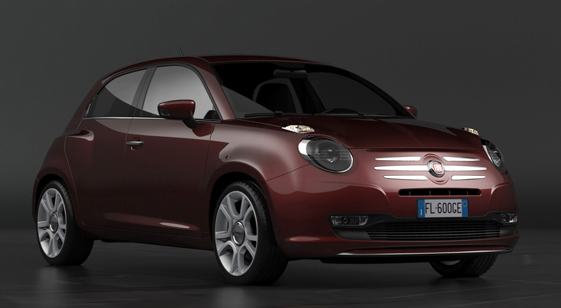 Fiat 600 Design Concept frontal 2