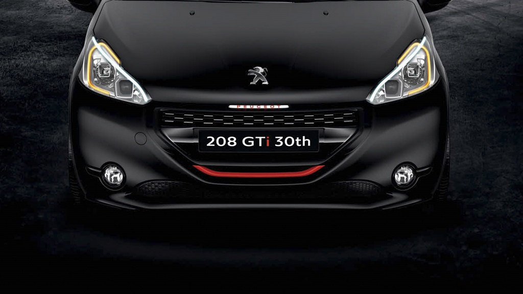Peugeot 208 GTI 30th frontal