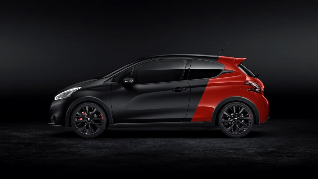 Peugeot 208 GTI 30th lateral
